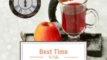 best time to take apple cider vinegar