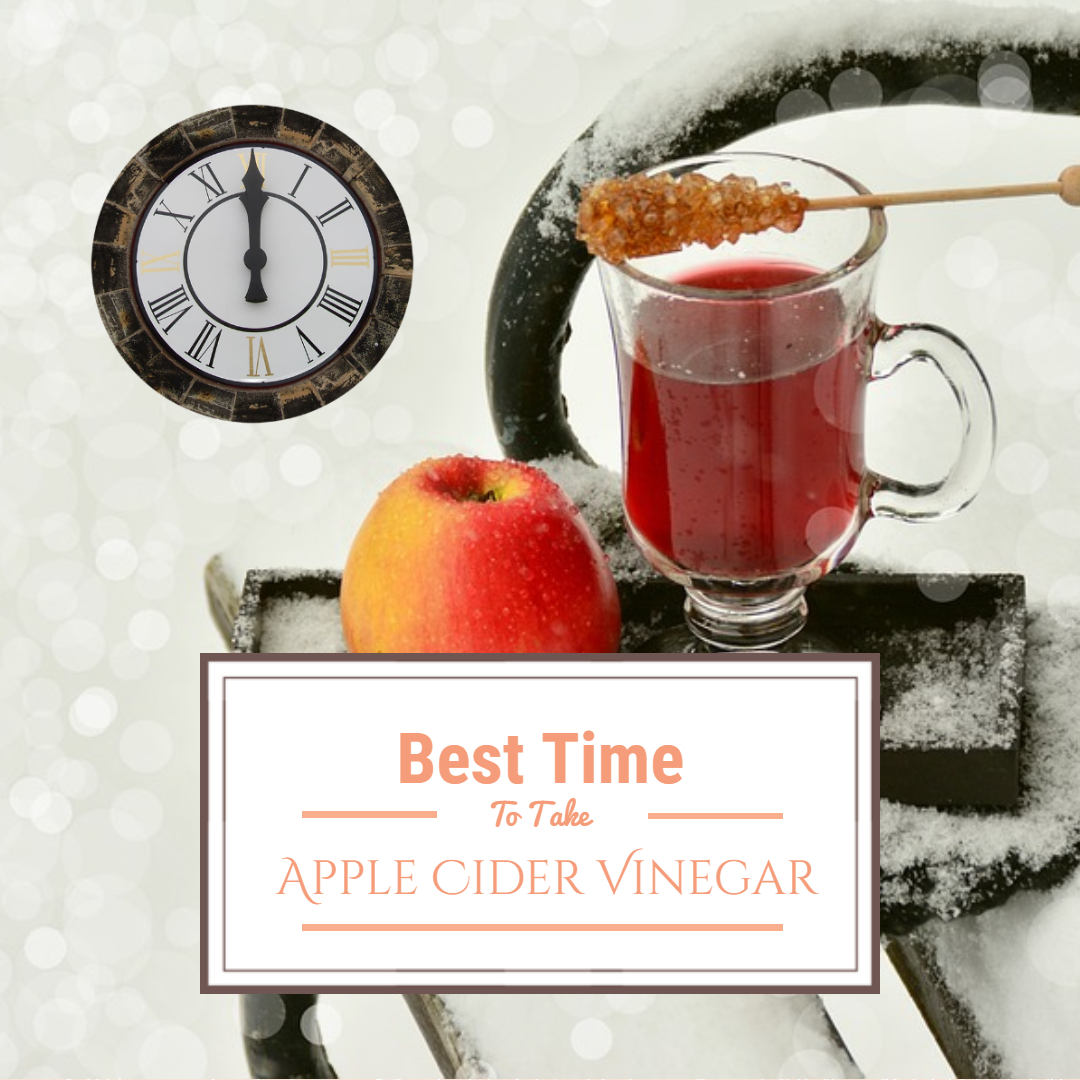 best time to take apple cider vinegar